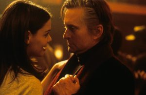 Michael Douglas ja Katie Holmes. Lähde: imdb.com