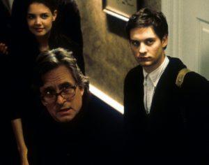 Michael Douglas. Tobey Maguire, Katie Holmes. Lähde: imdb.com